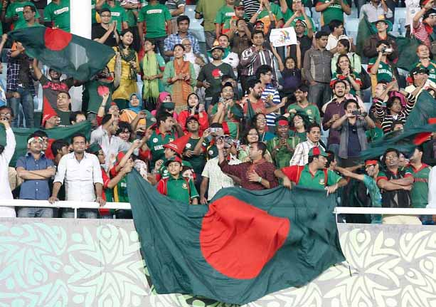 bangladesh cricket fans against ireland