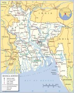 Bangladeh Map details