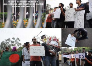 Bangladeshi fans says sorry to west indies team after stoning to their bus