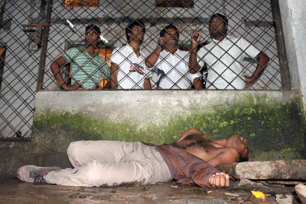 A boy injured during hortal by police