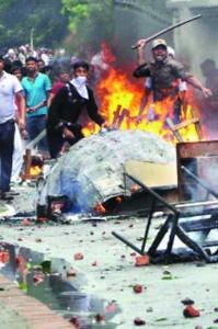 clash in Ashulia